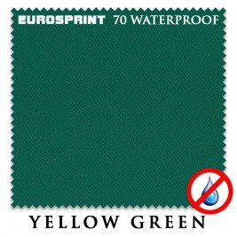 Бильярдное сукно - 30% Eurosprint 70 Waterproof 198 см yellow green