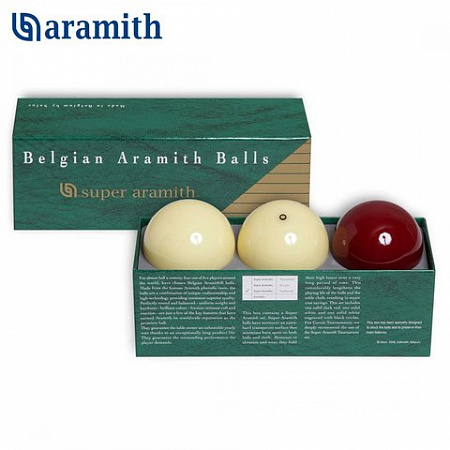 ШАРЫ SUPER ARAMITH TRADITIONNEL CAROM O61,5ММ 3ШАРА